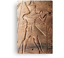Pharaoh hieroglyph Canvas Print