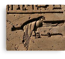 Bird hieroglyph 2 Canvas Print