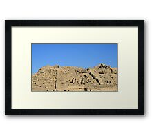 Temple ruin Framed Print