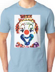 Clownin Around - Funny Circus Clown Art Unisex T-Shirt