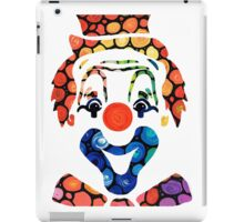 Clownin Around - Funny Circus Clown Art iPad Case/Skin