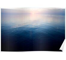 Sunset on the Dalmatian Coast - Croatia Poster