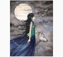"""""""Night of the Wolf"""" Gothic Fantasy Art by Molly Harrison T-Shirt"""