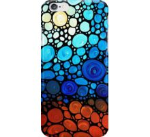 A Day To Remember - Colorful Mosaic Landscape By Sharon Cummings iPhone Case/Skin