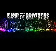 Band of Brothers - Glow Movie Poster by HDMI2K