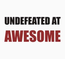 Undefeated At Awesome Kids Clothes
