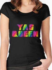 Broad City YAS QUEEN Women's Fitted Scoop T-Shirt