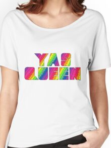 Broad City YAS QUEEN Women's Relaxed Fit T-Shirt