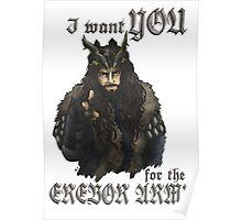 Erebor Army Poster
