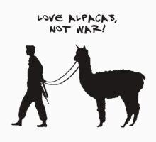 Love alpacas, not war! by avital