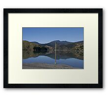 Reflection of Middle Earth Framed Print