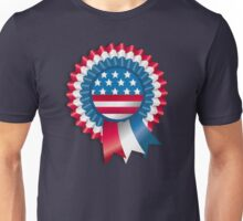 4th of July Ribbon Memorial Day Unisex T-Shirt