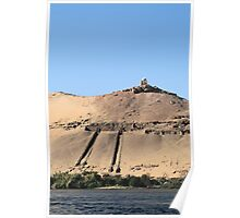 Temple on banks of River Nile 3 Poster