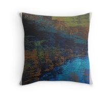 Water Tension in Acrylic Throw Pillow