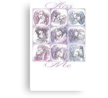 Kissing Challenge Canvas Print