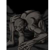 crawling ghoul Photographic Print