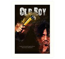 Oldboy - alternative art poster Art Print