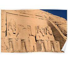 Abu Simbel Temple 4 Poster