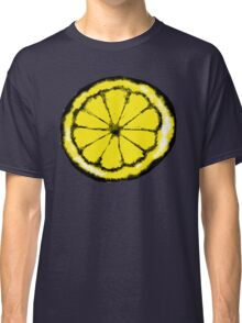 Lemon in the style of stone roses Classic T-Shirt