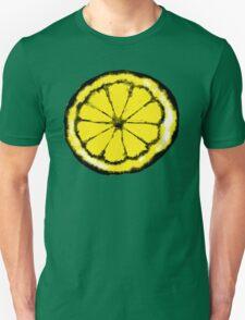 Lemon in the style of stone roses Unisex T-Shirt