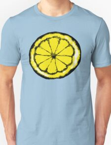 Lemon in the style of stone roses Unisex T-Shirt