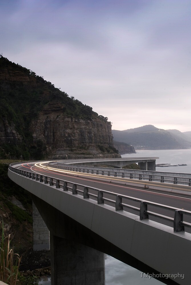 The Sea Cliff Bridge by TMphotography