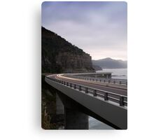 The Sea Cliff Bridge Canvas Print