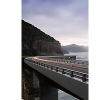 The Sea Cliff Bridge Photographic Print