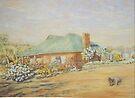 Farm House in Dumbleyung by scallyart