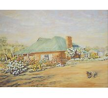 Farm House in Dumbleyung Photographic Print