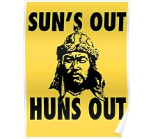 Sun's Out, Huns Out Poster