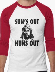 Sun's Out, Huns Out Men's Baseball ¾ T-Shirt