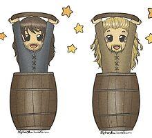 Barrels! by AlyTheKitten
