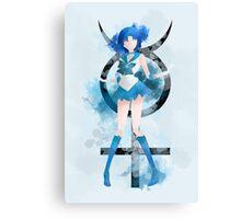 Sailormoon: Sailormercury Print Canvas Print