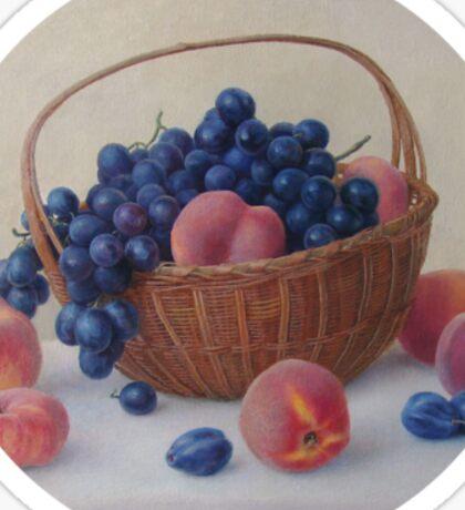 Still life with fruit Sticker