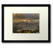 Emerald City - Moods Of A City - The HDR Experience Framed Print
