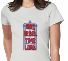100% Rebel Time Lord Womens Fitted T-Shirt