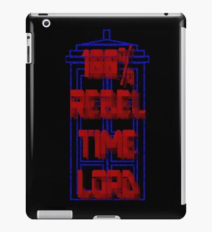 100% Rebel Time Lord iPad Case/Skin