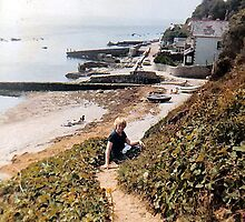 Bonchurch Beach by sweeny