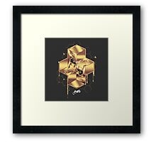 A4_Army of Beesons Framed Print