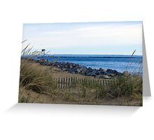The Jetty Greeting Card