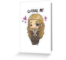 Cuddle Fili Greeting Card