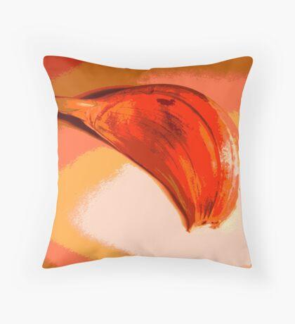 Unlikely orange #3 Throw Pillow