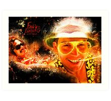 Fear and Loathing in Las Vegas - Alternative Movie Poster Art Print