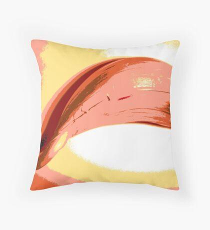 Unlikely orange #5 Throw Pillow