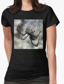 ©NS Latrodectus Mactans-Manducatio IA. Womens Fitted T-Shirt