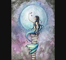 Magic Mermaid Watercolor Fantasy Art Illustration Unisex T-Shirt