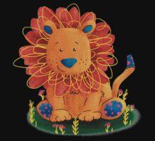 Little Lion One Piece - Short Sleeve