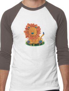 Little Lion Men's Baseball ¾ T-Shirt