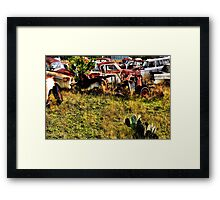 Bare Bones    ( BoneYard Series ) Framed Print